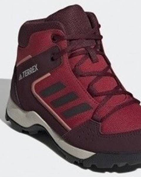 Červené boty adidas