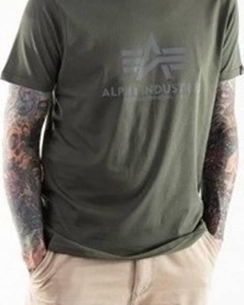 Zelené tričko Alpha