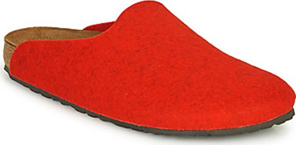 Birkenstock Pantofle AMSTERDAM Červená