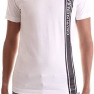 Trička s krátkým rukávem J30J315737 Bílá