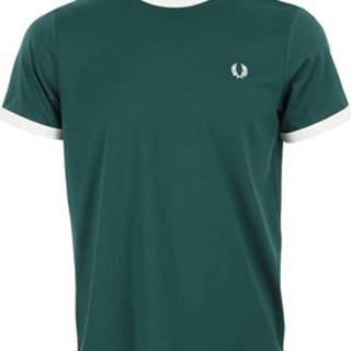 Trička s krátkým rukávem Ringer T-Shirt Zelená