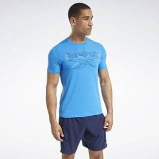 Trička s krátkým rukávem Workout Ready ACTIVCHILL T-Shirt Modrá