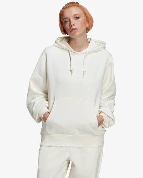 Bílý svetr adidas originals