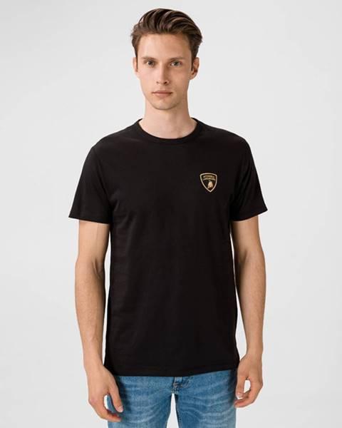 Černé tričko Lamborghini