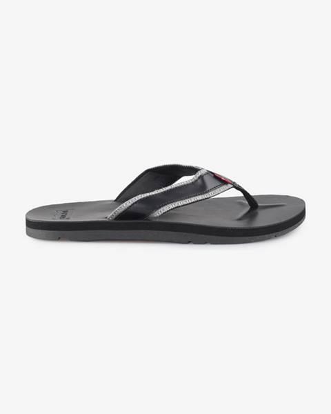 Černé pantofle levi's®