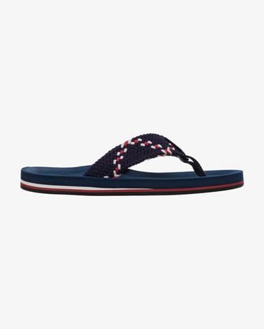 Modré pantofle gant