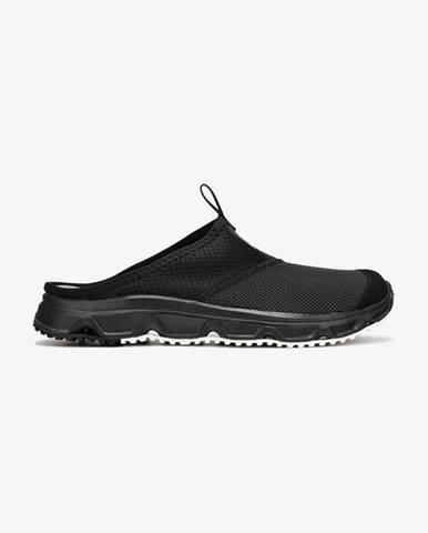 Černé pantofle Salomon
