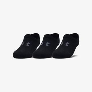 Ultra Lo Ponožky 3 páry Černá