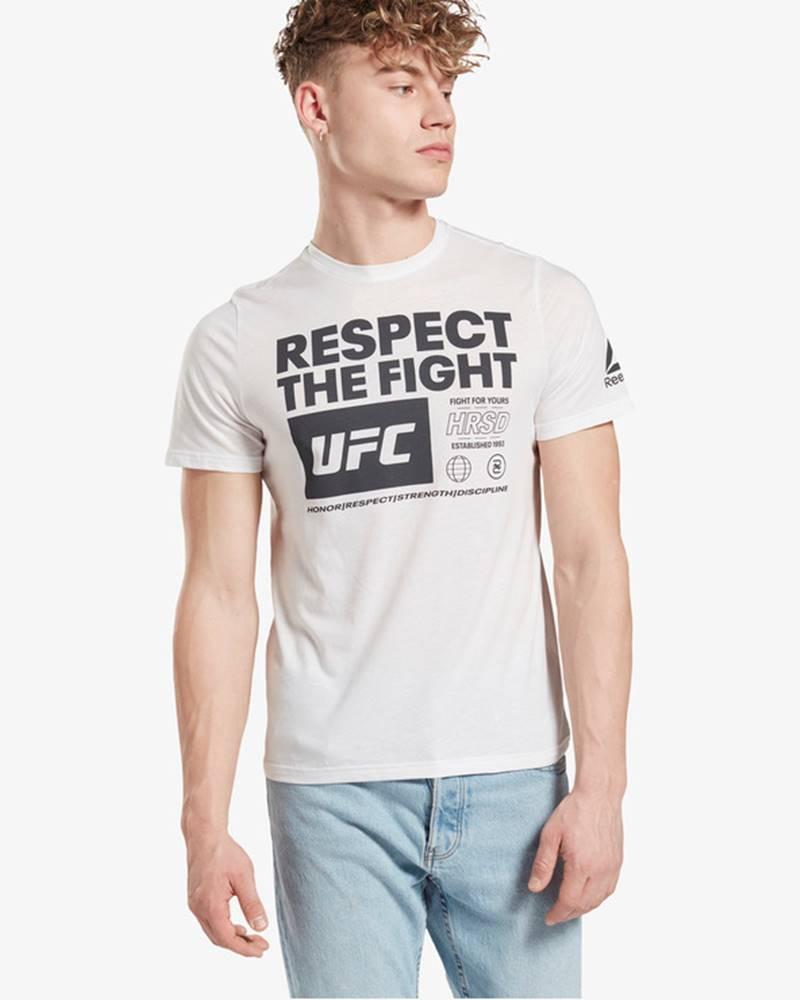 reebok UFC Triko Bílá