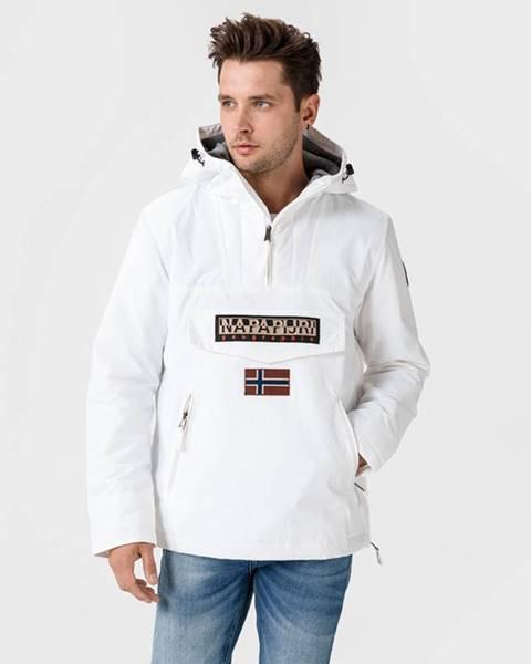 Bílá bunda Napapijri