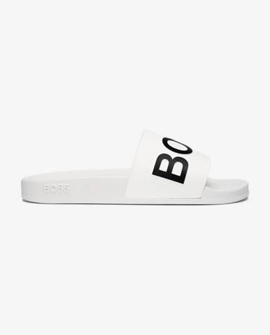 Bílé pantofle BOSS