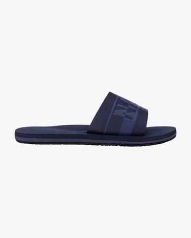 Modré pantofle Napapijri
