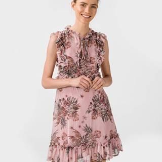 Šaty Růžová Béžová