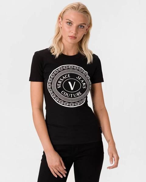 Černý top Versace Jeans Couture
