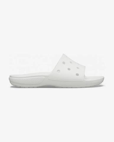 Bílé pantofle crocs