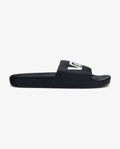 Černé pantofle vans