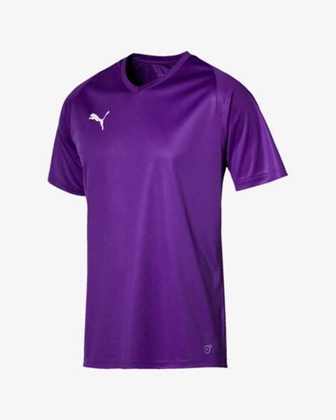 Fialové tričko puma