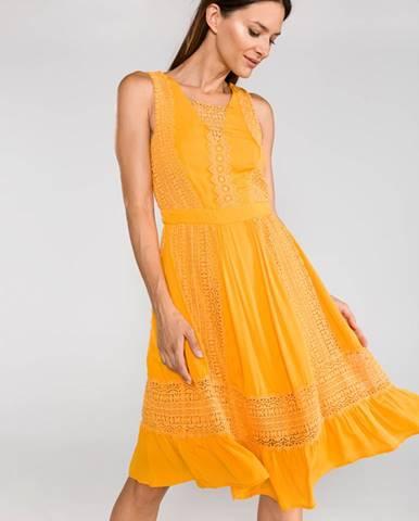 Žlutá sukně Silvian Heach