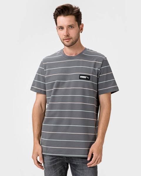 Šedé tričko puma