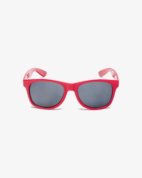 Červené brýle vans