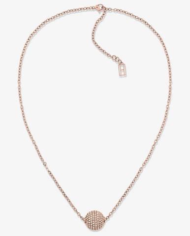 Zlatý náhrdelník tommy hilfiger