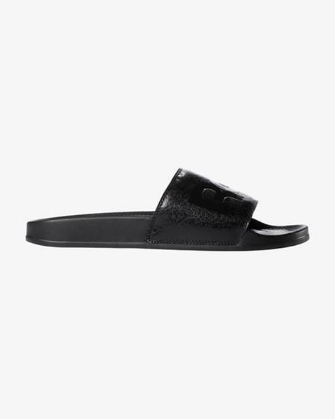 Černé pantofle reebok classic