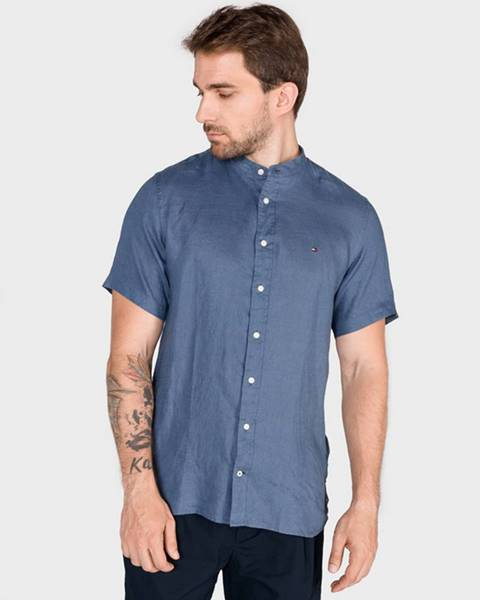 Modrá košile tommy hilfiger