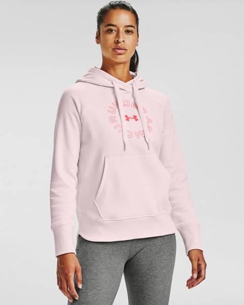 Růžový svetr under armour