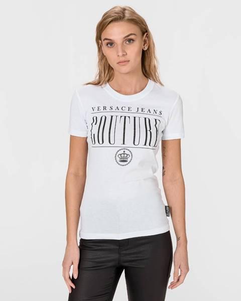 Bílý top Versace Jeans Couture