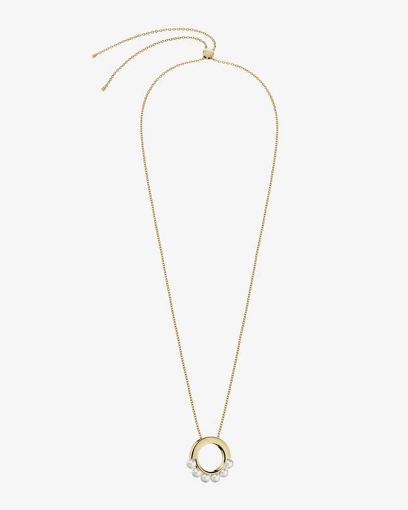Calvin Klein Circling Náhrdelník Zlatá