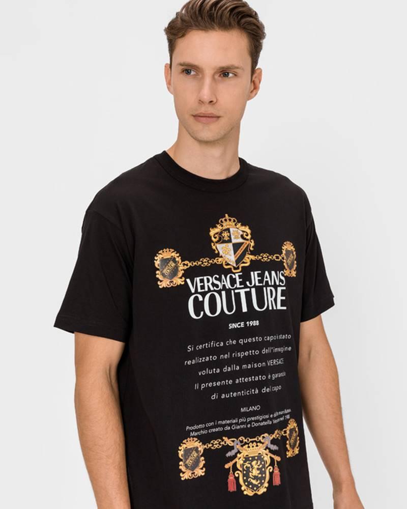 Versace Jeans Couture Triko Černá