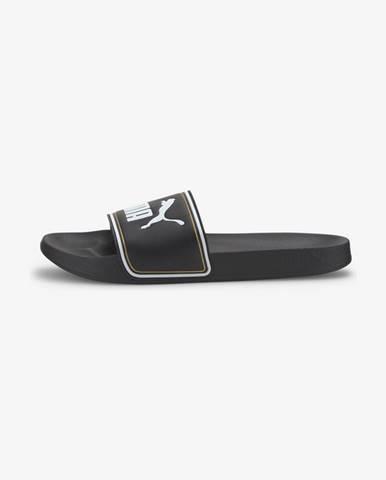 Černé pantofle puma