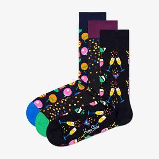 Celebration Ponožky 3 páry Černá Vícebarevná