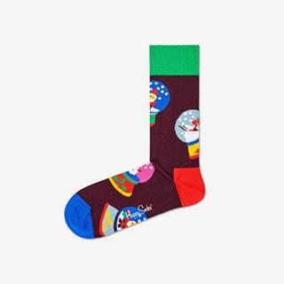 Snow Globe Ponožky Černá Vícebarevná