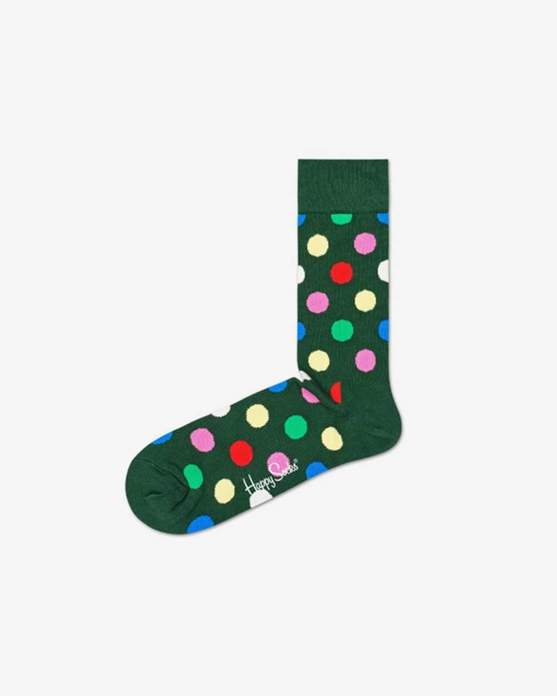 happy socks Holiday Dots Ponožky Zelená