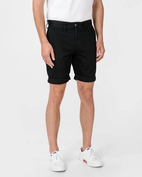 Černé kraťasy Tommy Jeans