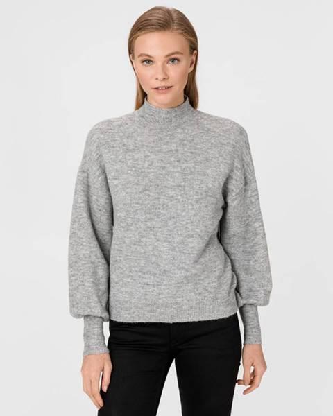 Šedý svetr vero moda