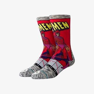 Magneto Comic Ponožky Červená Šedá