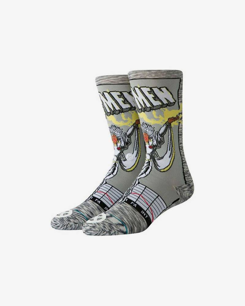 Stance Storm Comic Ponožky Šedá