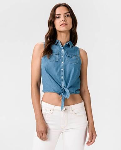 Modrá halenka pepe jeans