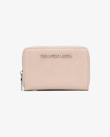 Béžová peněženka U.S. Polo Assn