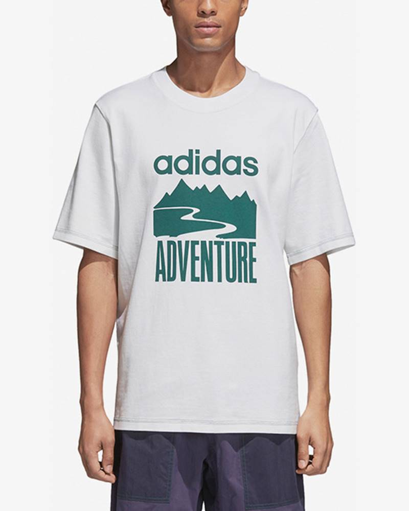 adidas originals Adventure Triko Bílá