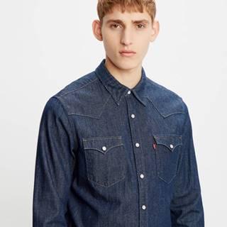 Barstow Western Standard Košile Modrá