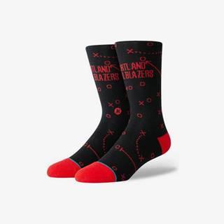 Trailblazers Playbook Ponožky Černá