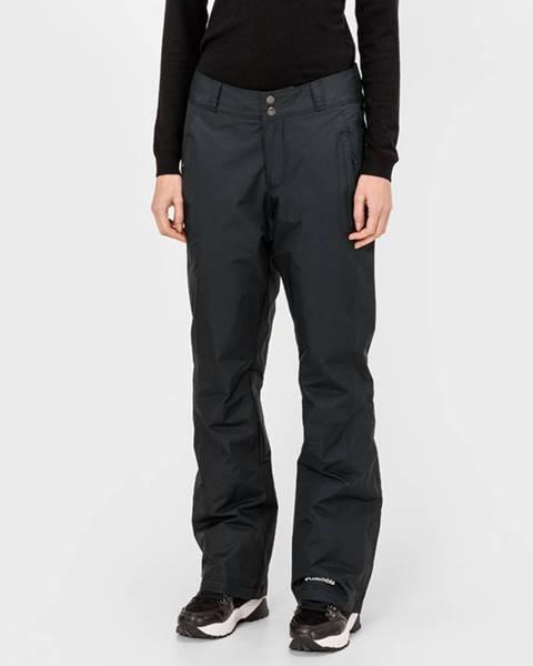 Černé kalhoty columbia