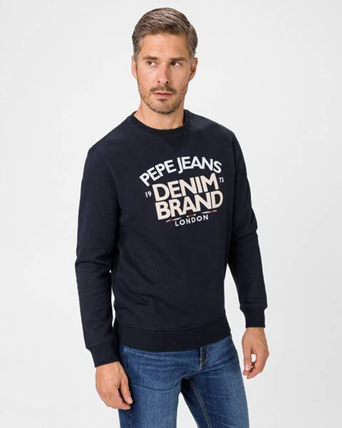 Modrá mikina pepe jeans