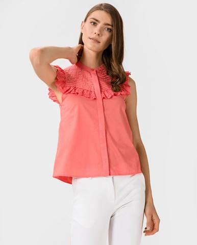 Růžová halenka vero moda