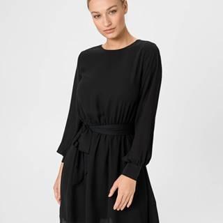 Lila Šaty Černá