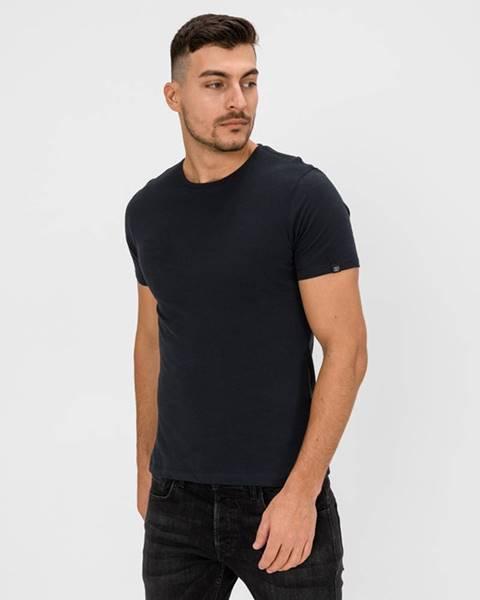 Modré tričko blend