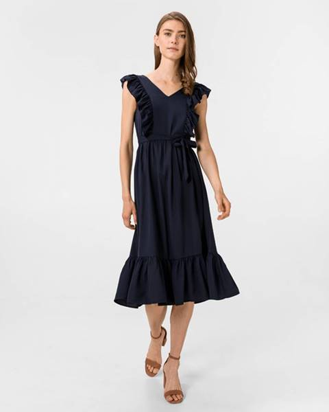 Modrá sukně vero moda